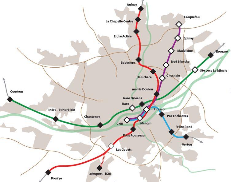 Etoile ferroviaire nantaise à plus long terme